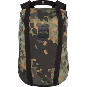 The North Face Instigator 20 Backpack New Taupe Green Macrofleck Camo Print/TNF Black